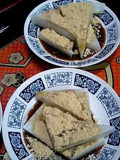 川崎大師の『久寿餅』