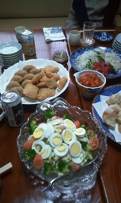 昨日の贅沢昼ご飯