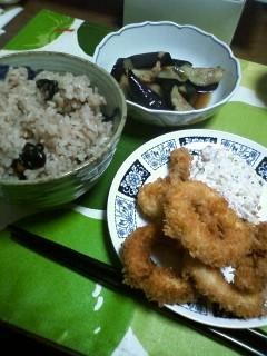 黒大豆ご飯