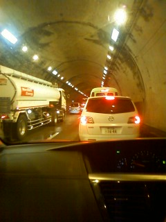 大渋滞です