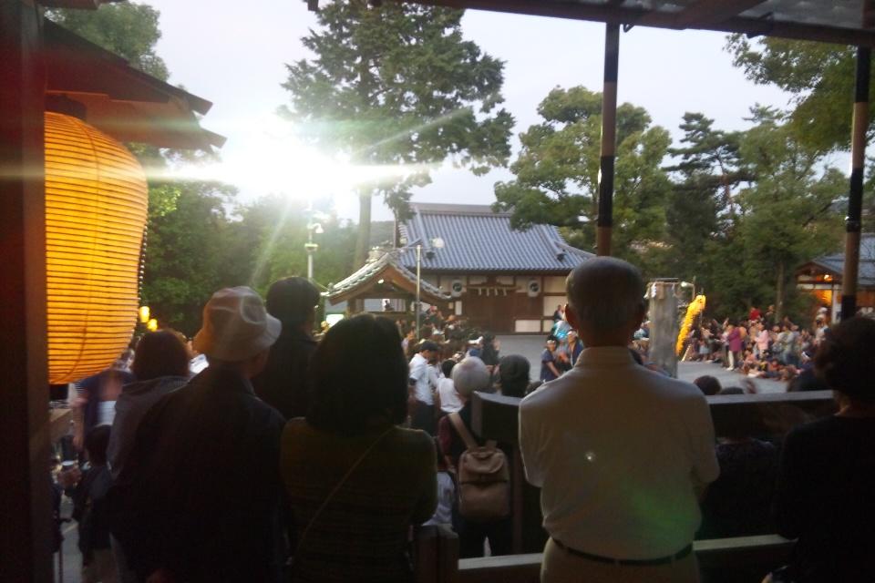 秋祭 神楽奉仕
